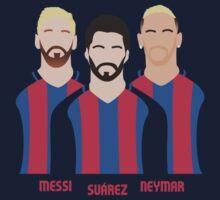 MSN - Messi, Suárez, Neymar Kids Tee