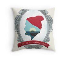 This Is An Adventure Throw Pillow