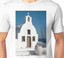 White Church, Oia, Santorini Unisex T-Shirt