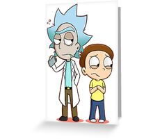 Rick and Morty | 2016 | Official Greeting Card