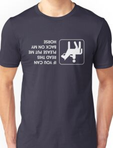 Right side up Unisex T-Shirt