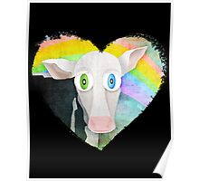 The Cow Who Freed Himself Poster