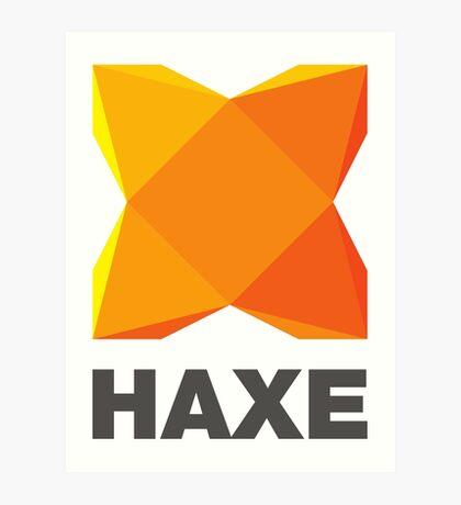 haxe programming language Art Print