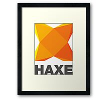 haxe programming language Framed Print