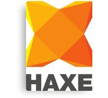 haxe programming language Canvas Print