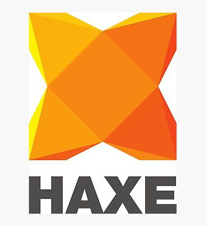 haxe programming language Photographic Print