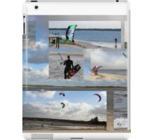 Water, fresh air, current, the wind - what more can one want?  iPad Case/Skin