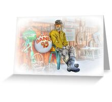Captain Hook Greeting Card