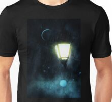 Street Lamp at Rainy Night 3 Unisex T-Shirt