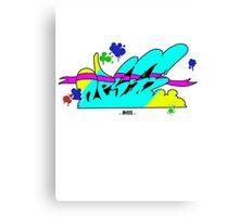 color's explosion Canvas Print