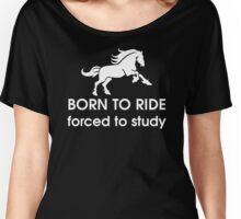 Ride or Study? Women's Relaxed Fit T-Shirt