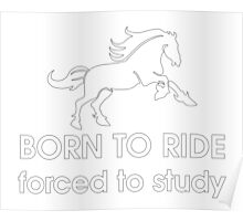 Ride or Study? Poster