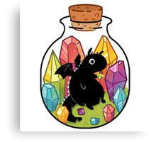Dragon in a Bottle Canvas Print