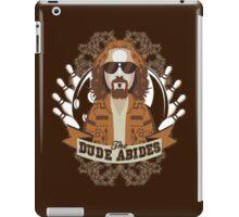 The Dude Abides The Big Lebowski iPad Case/Skin
