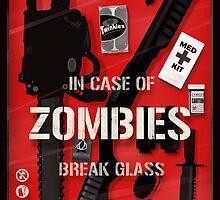 Zombie Emergency Kit by BigBadRobot