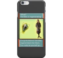 Handles' Regeneration (Evolution Style) iPhone Case/Skin