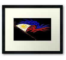 Philippine Tribal Flag Framed Print