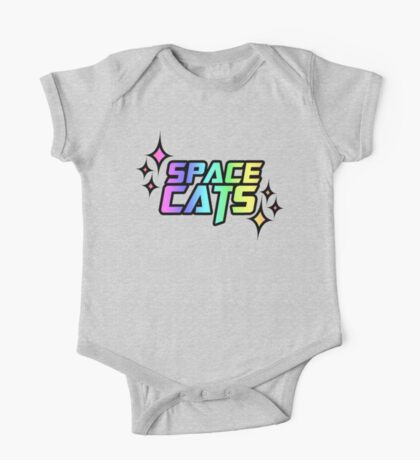 SPACE CATS! One Piece - Short Sleeve