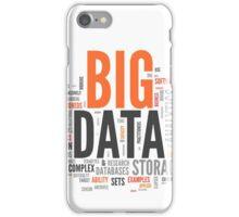 big data orange cloud iPhone Case/Skin