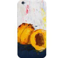 Apricot in Half iPhone Case/Skin