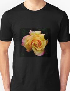 Double Hearted Peach Rose Unisex T-Shirt