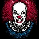 Clown Horror by andresMvalle