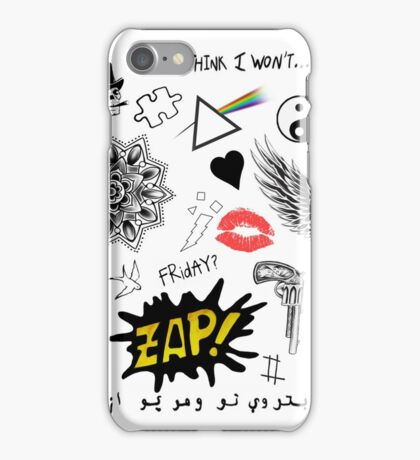Zayn Malik Phone Case Tattoos iPhone Case/Skin