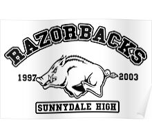 Sunnydale High Razorbacks Poster
