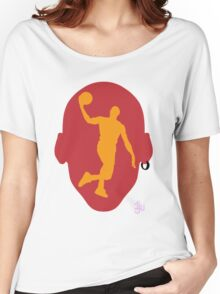 Basketball Icon Dunk MIA Women's Relaxed Fit T-Shirt
