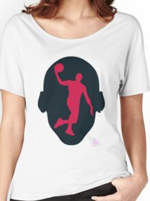 Basketball Icon Dunk CHI3 Women's Relaxed Fit T-Shirt