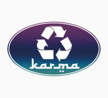 Recycle KARMA Sticker by robotface
