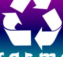 Recycle KARMA Sticker Sticker