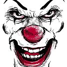 Clown Face by andresMvalle