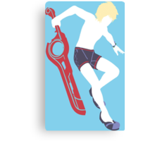 Beach Shulk Vector Canvas Print