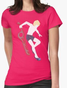 Beach Shulk Vector Womens Fitted T-Shirt