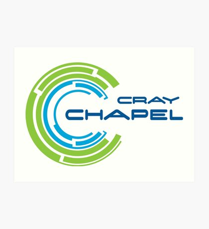 cray chapel programming language Art Print