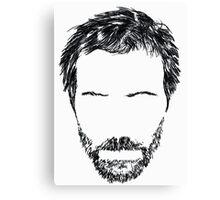 Hugh Laurie Canvas Print