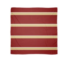 Maroon Gold and White Scarf