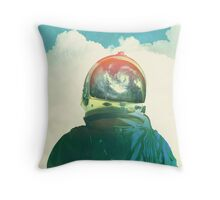 God is an astronaut Throw Pillow