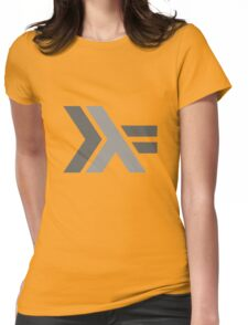 Haskell Logo Womens Fitted T-Shirt