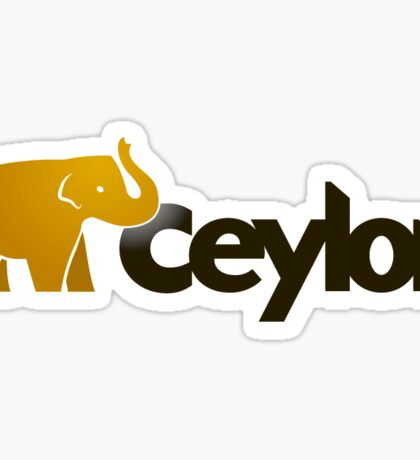 ceylon programming language sticker Sticker