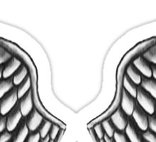 Justin Bieber Wings Tattoo Sticker