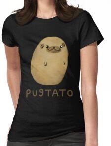 Pugs - Pugtato Womens Fitted T-Shirt