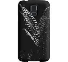 Portrait Of A Fern in Black and White Samsung Galaxy Case/Skin