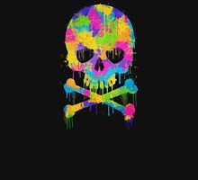 Abstract Trendy Graffiti Watercolor Skull  Unisex T-Shirt