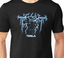 Nikola Tesla, Mad Scientist | Unisex Science Engineering Geek Humor T-shirt Unisex T-Shirt