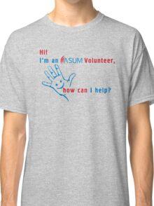 ASUM Volunteer-2 Classic T-Shirt