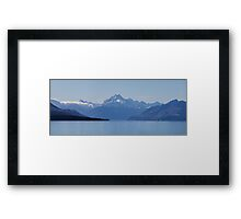 Mount Cook from Pukaki Framed Print