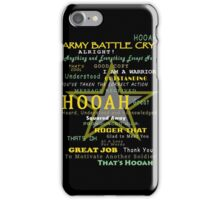 Army - Army Battle Cry iPhone Case/Skin