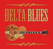 Wonderful Delta Blues One Piece - Short Sleeve